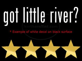 got little river vinyl wall art car decal sticker more