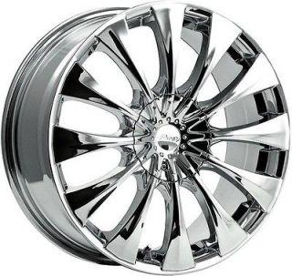 inch Pacer Silhouette chrome wheel rim 5x115 Lumina Malibu Monte Carlo