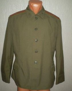 USSR Soviet Army Military uniforms Jacket Major construction troops
