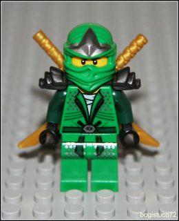 Lego Ninjago x1 Lloyd ZX ★ Green Ninja 9450 Golden Swords Armor