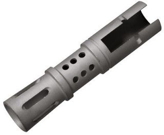 HOT RUGER MINI 14 STAINLESS STEEL MUZZLE BRAKE   AMS14/2