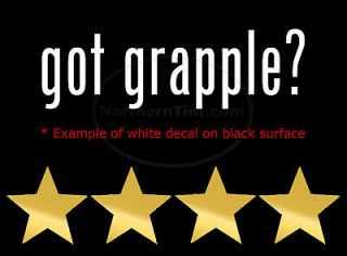got grapple vinyl wall art truck car decal sticker more