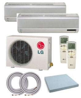 lg lmu180he mini split dual zone air conditioner certified lg