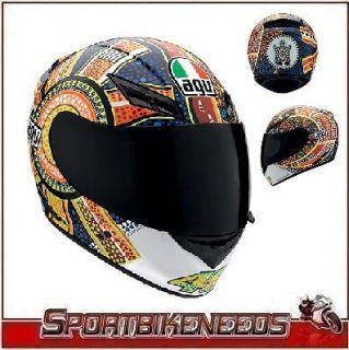 AGV K3 Dreamtime Valentino Rossi Street Helmet Size Large L