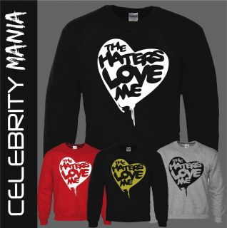 DRAKE LIL WAYNE THE HATERS LOVE ME SWAG NICKI MINAJ JUMPER SWEATER