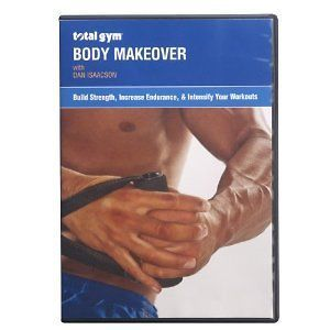 total gym body makeover dvd with dan isaacson new time
