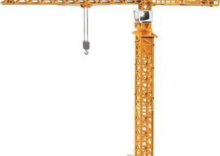 SIKU Tower Slewing Crane 187 Scale (40cm tall) * die cast toy model