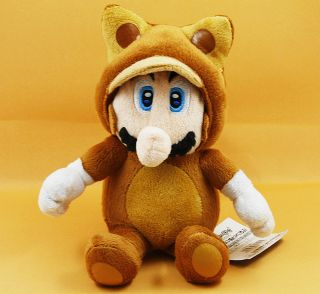Newly listed RACCOON TANOOKI MARIO 7 SUPER MARIO BROS PLUSH DOLL TOY