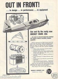 1958 mooney mark 20a aircraft ad 5 14 12d time