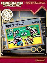 Super Mario Bros. 2 Famicom Mini Series Edition Nintendo Game Boy