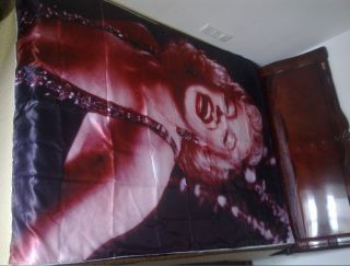 Marilyn Monroe Rare Picture Queen Bed Duvet Quilt Cover 150x200cm
