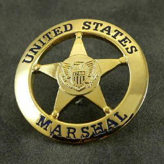 marshal service usms lapel pin novelty 1 inch