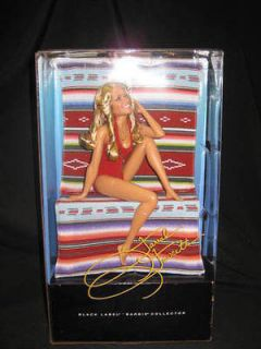 2010 farrah fawcett red swimsuit barbie v7161 nrfb time left
