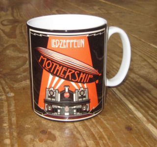 led zeppelin mothership advertising mug from united kingdom returns