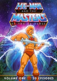 He Man and the Masters of the Universe, Vol. 1 DVD, 2011, 2 Disc Set