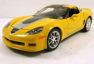 2009 Chevrolet Corvette GT1 diecast model car 124 scale New Maisto