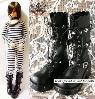 goth punk cosplay jbd visual kei v stud boot 10 5 11 27