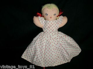 vintage 1970 s topsy turvy black white doll flips stuffed