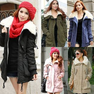 womens long winter coats in Clothing,