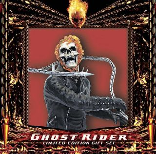 Ghost Rider DVD, 2007, 2 Disc Set, Limited Edition Gift Set Extended