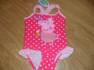 bnwt lovely peppa pig swimming costume location united kingdom returns