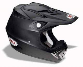 bell moto 8 matte black helmet 2009 new size 2xl