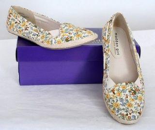 New Madden Girl by Steve Madden STRIPESS Womens Flat shoes Sz 9