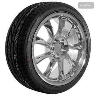 18 inch Mercedes Benz 2009 CL CLK E S SL chrome wheels rims and tires