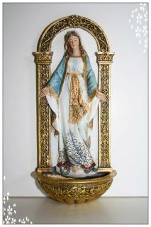 Josephs Studio Renaissance Collection OUR LADY OF GRACE HOLY WATER