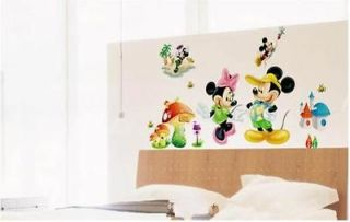 Mickey Mouse with Hat Dancing&Palying Wall Sticker Fantasy Decor