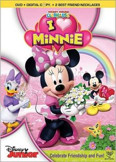 Mickey Mouse Clubhouse I Heart Minnie DVD, 2012, 2 Disc Set, Includes