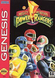 Mighty Morphin Power Rangers Sega Genesis, 1994