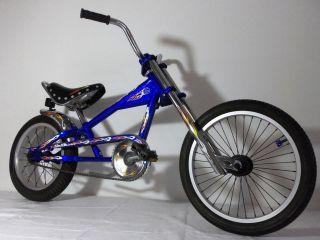 schwinn stingray orange county choppers 18 bicycle bike one day