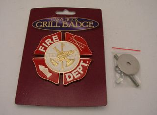 fire department badges in Badges Obsolete