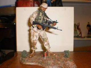 McFARLANE Military ~ AIR FORCE COMBAT ENGINEER ~ Series 4 Black