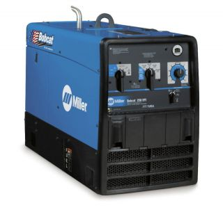 miller bobcat 250 welder generator w efi 907502 time left