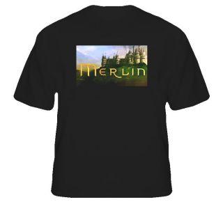 Merlin Show British UK Fantasy Myth Wizards Magic Fun T Shirt