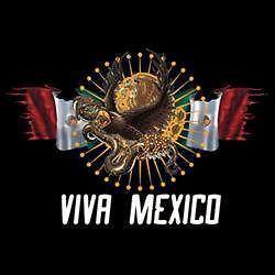 Viva Mexico Tshirt Vacation Ciudad Mexican Pride Flag Hispanic Latino
