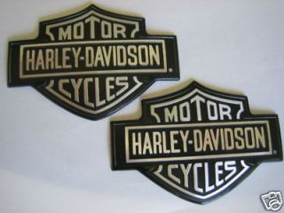 harley davidso n oem gas tank emblems left and right time left $ 56 00