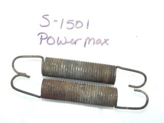 simplicity 4041 power max tractor brake rod springs time left