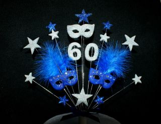 masquerade masks birthday occasion cake topper  18