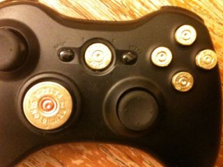 Xbox 360 Controller 9mm Bullet Button/Guide/D​ pad Mod Kit