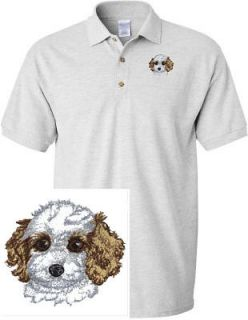COCKAPOO PUPPY DOG & CAT SHIRT SPORTS GOLF EMBROIDERED EMBROIDERY POLO