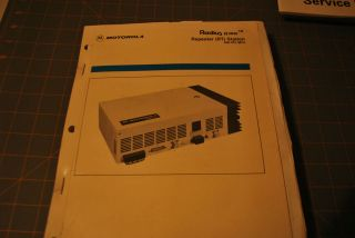 motorola Service Manual reapeter radio communication transceiver
