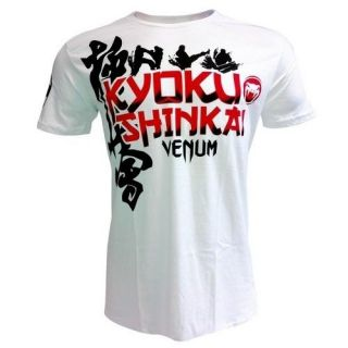 VENUM KYOKUSHINKAI JIU JITSU SHIRT WHITE SIZES S, M, L, XL, 2XL