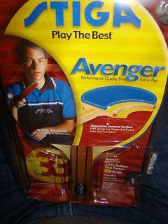 stiga avenger table tennis ping pong paddle