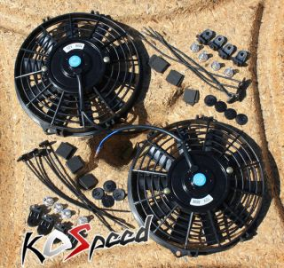 /ENGINE COOLING FAN+MOUNTING STRAP KIT (Fits 1989 Toyota Celica