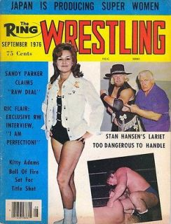 The Ring Wrestling magazine 9/76 Vintage WOMEN GIRLS GALS Superstar