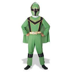 power rangers mystic force green costume size 10 12 new