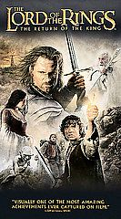 The Lord of the Rings The Return of the King VHS, 2004, 2 Tape Set